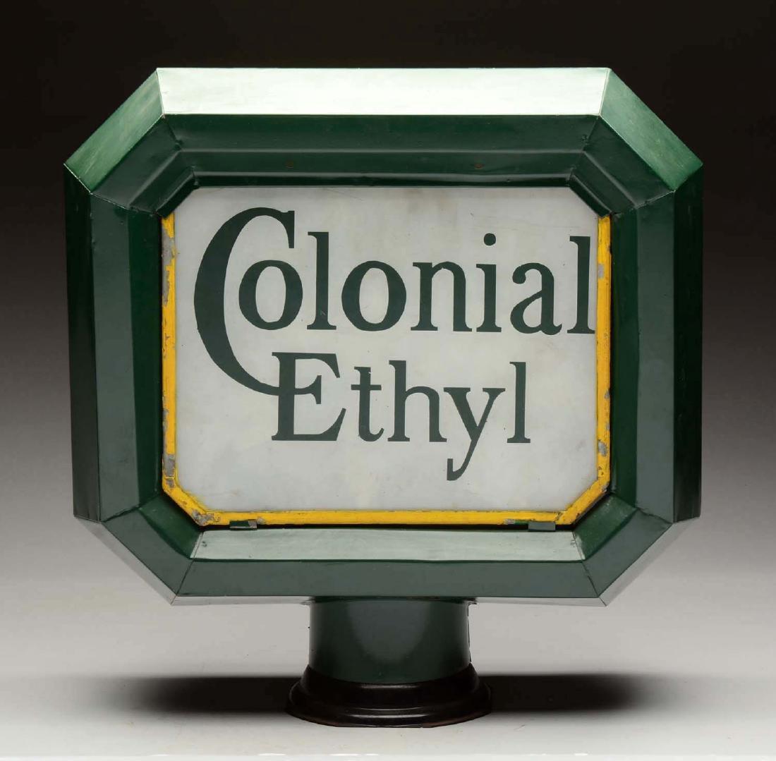 Colonial Ethyl Complete Shoe Box Globe.