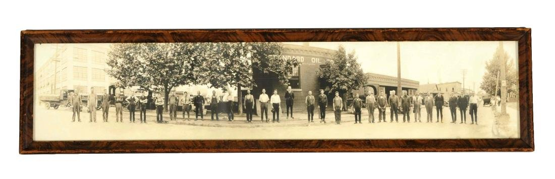 Circa 1920's Standard Oil of Indiana Panoramic