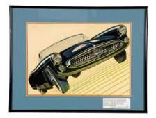 1955 Ford Thunderbird Concept Original Detroit Styling