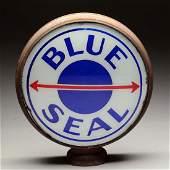"Blue Seal 16-1/2"" Single Globe Lens. On Metal Body"