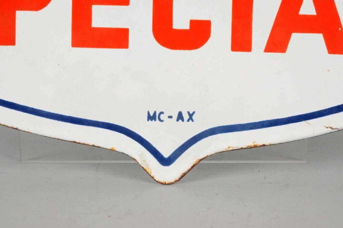 Mobilgas Special w/ Pegasus Shield Shaped Porcelain - 2