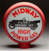 """Midway High Power Gas 15"""" Single Globe Lens."""