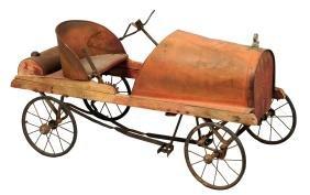 Antique Hudson Automobile Pedal Car.