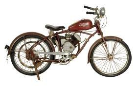Original Whizzer Motorcycle.