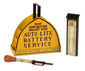 Auto-Lite Battery Service Box.