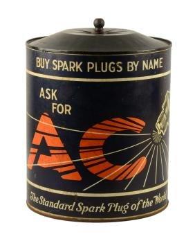 AC Spark Plug Countertop Display.