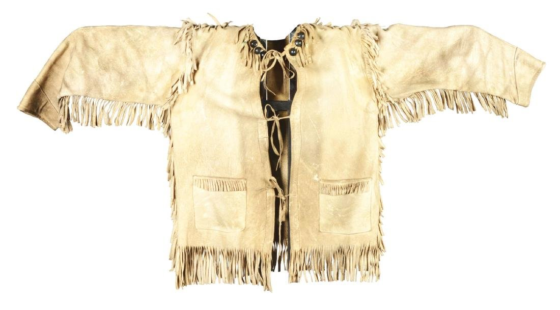 Plains Cree Jacket With Silver Buttons.