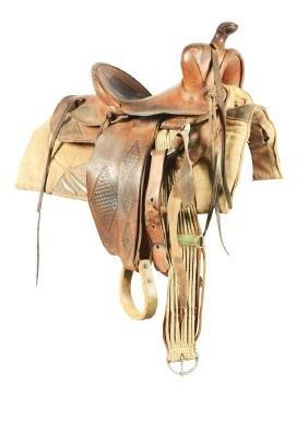 E.C. Lee Cowboy Saddle.