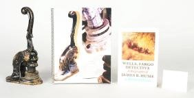 James B Hume Wells Fargo Embossing Seal With Book.