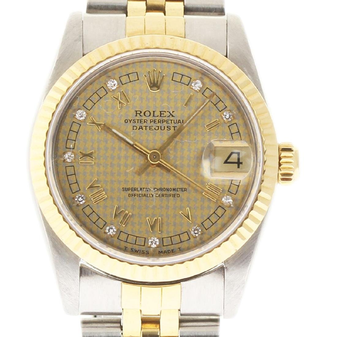 Rolex Datejust with Diamond dial