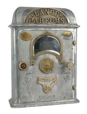 French Lance Parfums Perfume Vending Dispenser.
