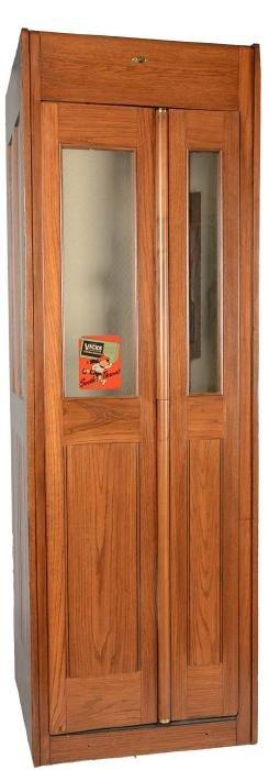 Western Electric Oak Telephone Booth.