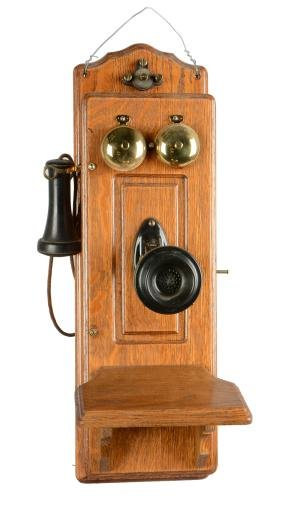 Early Monarch, Chicago Wall-Mount Telephone.
