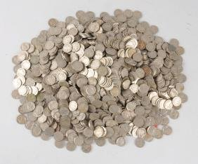 Large Lot Of Buffalo Nickels.
