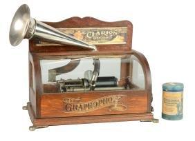 5¢ Columbia Graphophone Phonograph.