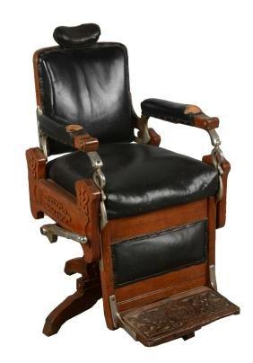 Antique Koken Barber Chair.