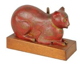 "**Rare 10¢ Lukat ""The Lucky Cat"" Trade Stimulator."