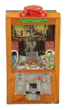 2¢ International Mutoscope Reel Junior Crane Arcade