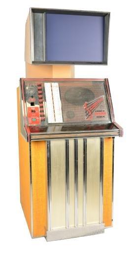 25¢ Tel-A-Sign Scopitone ST36 Jukebox.