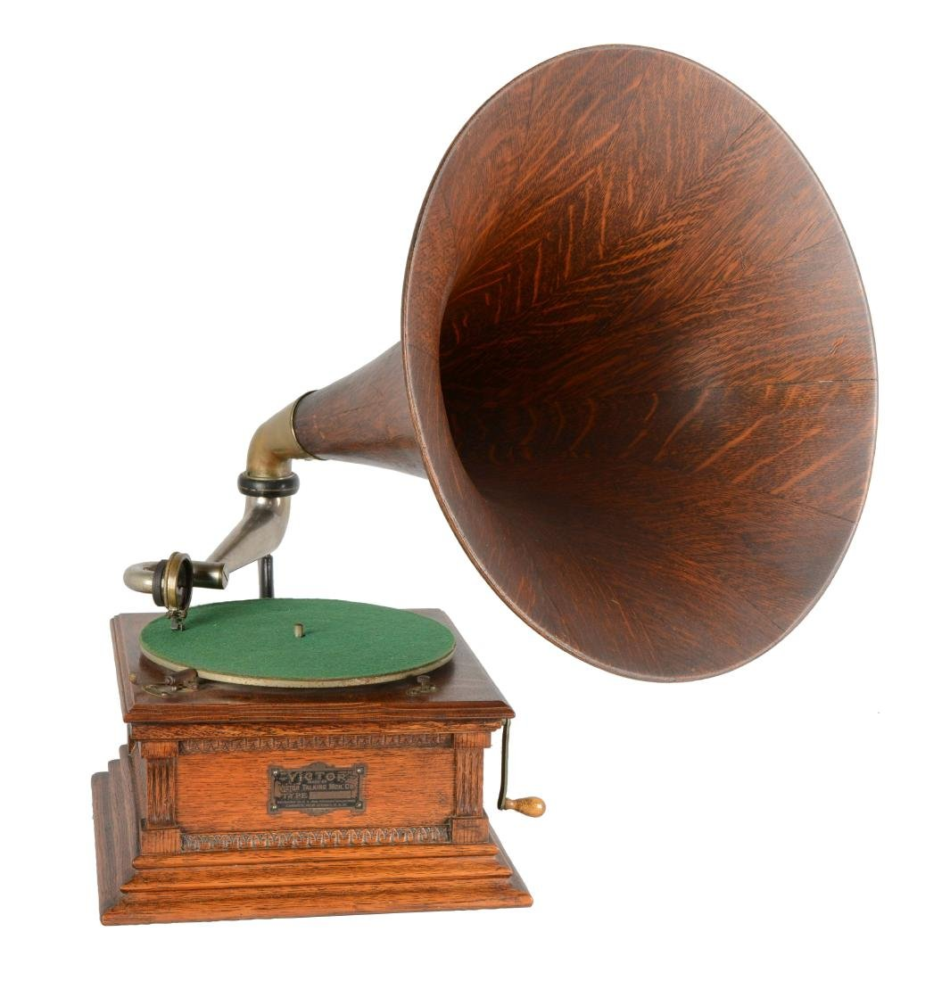 Victor Monarch Phonograph.