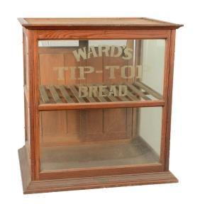 Ward's Tip-Top Bread Bakery Display Showcase.