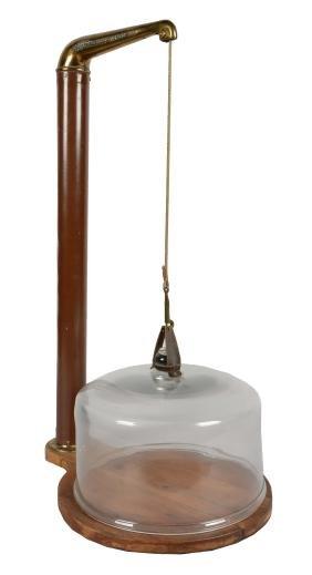 Antique Counter Balanced Display Case.
