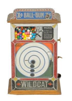 1¢ John Goodbody Wildcat Ball Gum Vendor Skill Game.