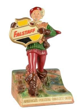 Falstaff Brewing Company Figural Advertisement.