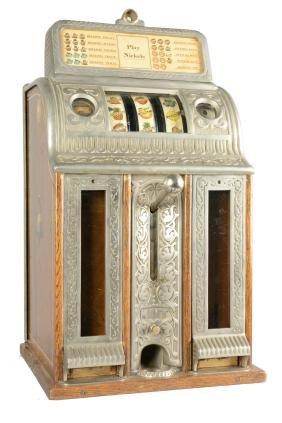 **5¢ Caille Victory Mint Vendor Slot Machine.