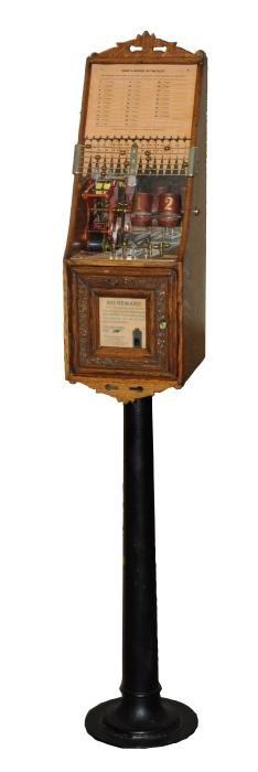 **Original 5¢ Clawson Automatic Dice Trade Stimulator.
