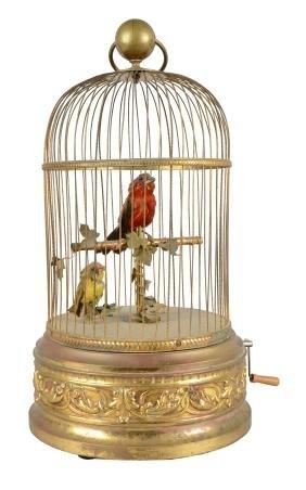 Mechanical Singing Bird Automaton.