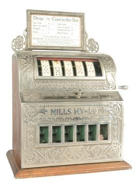 **5¢ Mills Hy-Lo Trade Stimulator.