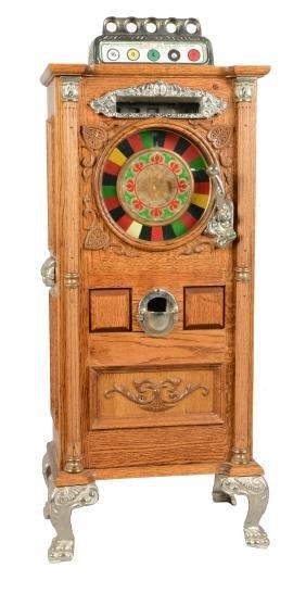 **50¢ Little Dewey Miniature Slot Machine.
