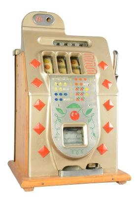 **10¢ Mills Novelty Chrome Slot Machine.