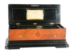 B.A. Bremond Interchangeable Music Box.