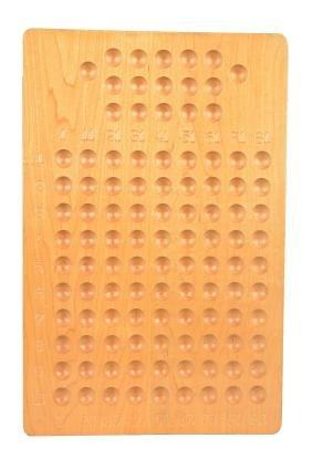 Operator's Wooden Keno Board.