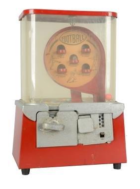 1¢ Football Multi-Vender Machine.