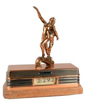 Abbotwares Figrual Nude Woman Clock.
