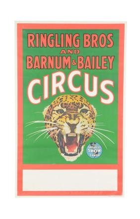 Ringling Bros. and Barnum & Bailey Circus Advertisement