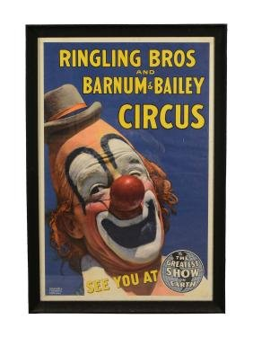 Ringling Bros. and Barnum & Bailey Circus Lithographic