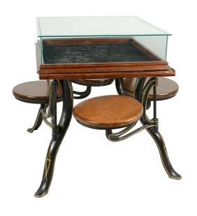 4-Seat Display Table.