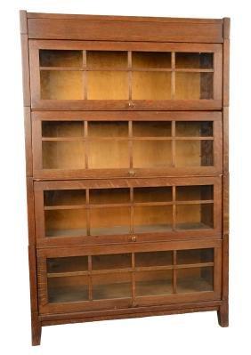Grand Rapids Gunn Mfg. Sectional Bookcase.