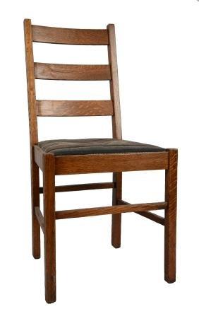 Oak Chair.