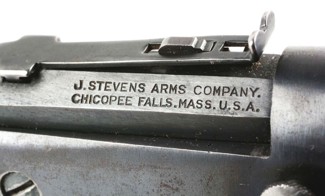 (C) Stevens Off-Hand Target No. 35 Single Shot Pistol. - 3