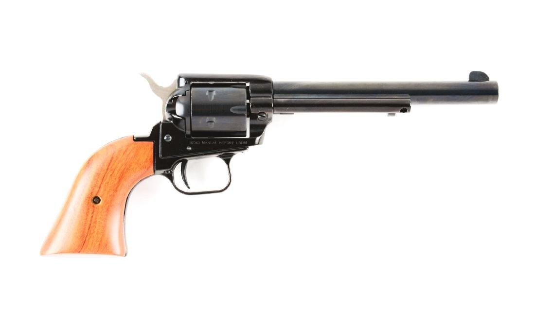 (M) Boxed NRA Heritage Firearms Rough Rider Revolver.
