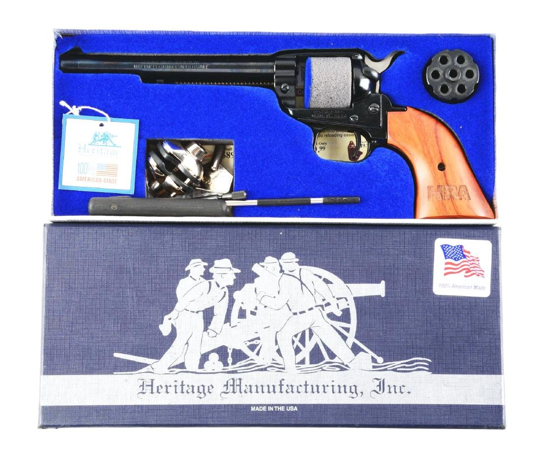 (M) Boxed NRA Heritage Firearms Rough Rider Revolver. - 7