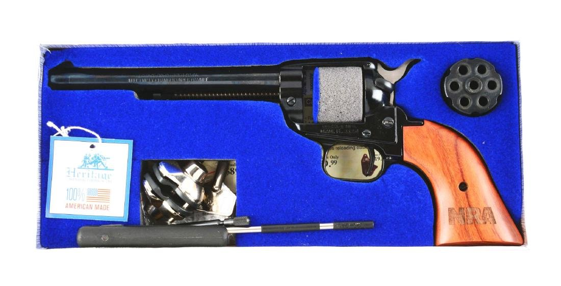 (M) Boxed NRA Heritage Firearms Rough Rider Revolver. - 8