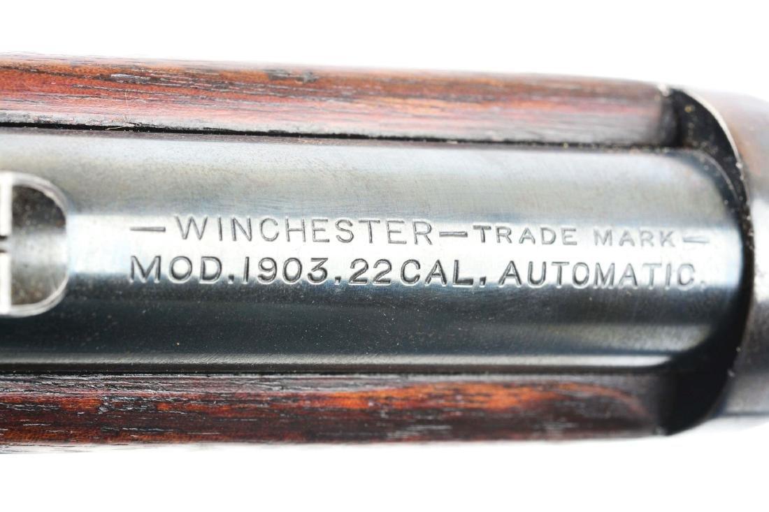 (C) Winchester Model 1903 Semi-Automatic Rifle Threaded - 6