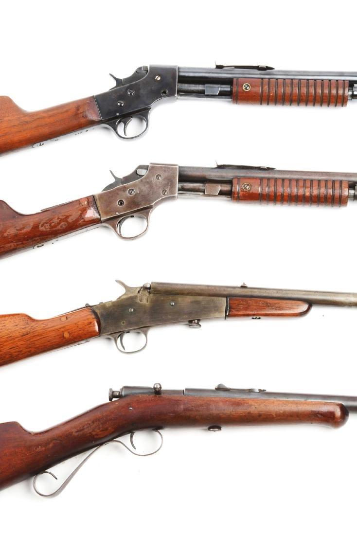 (C) Lot Of 4: .22 Caliber Rifles. - 2