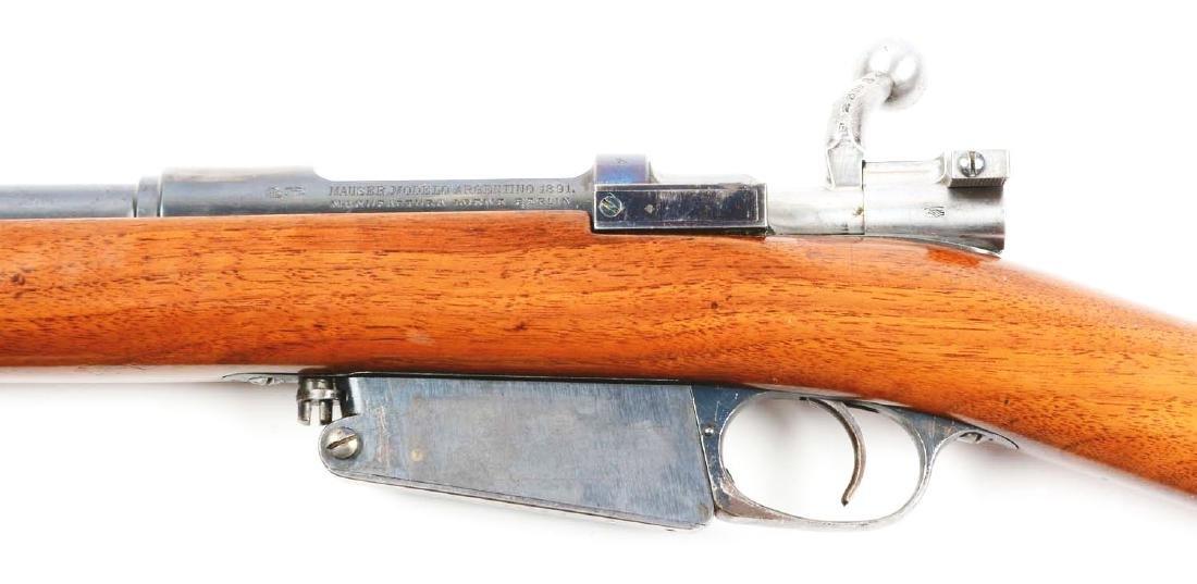 (C) Loewe & Company 1891 Argentine Mauser Carbine. - 4
